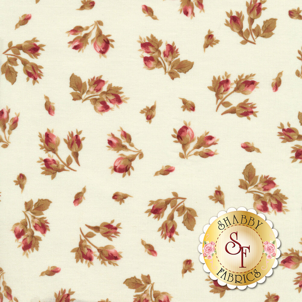 Burgundy & Blush 9362-E Available at Shabby Fabrics