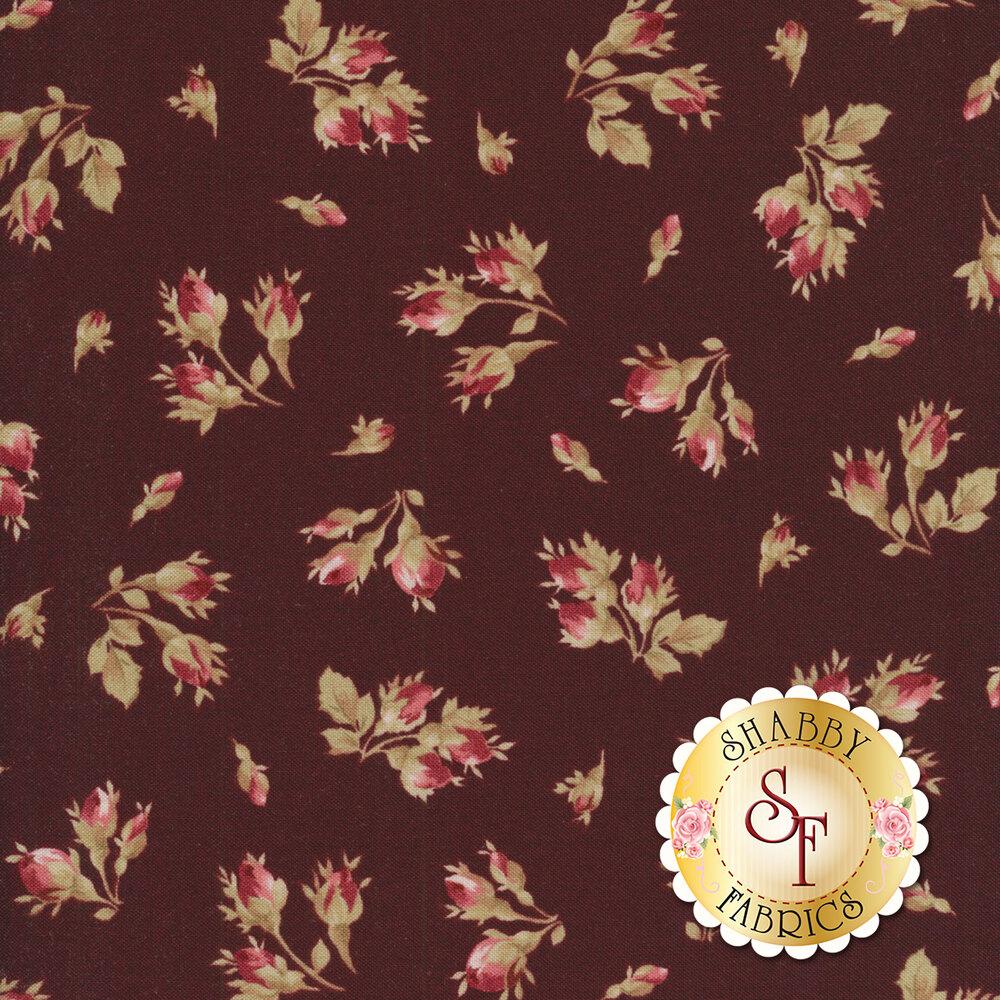 Burgundy & Blush 9362-M Available at Shabby Fabrics