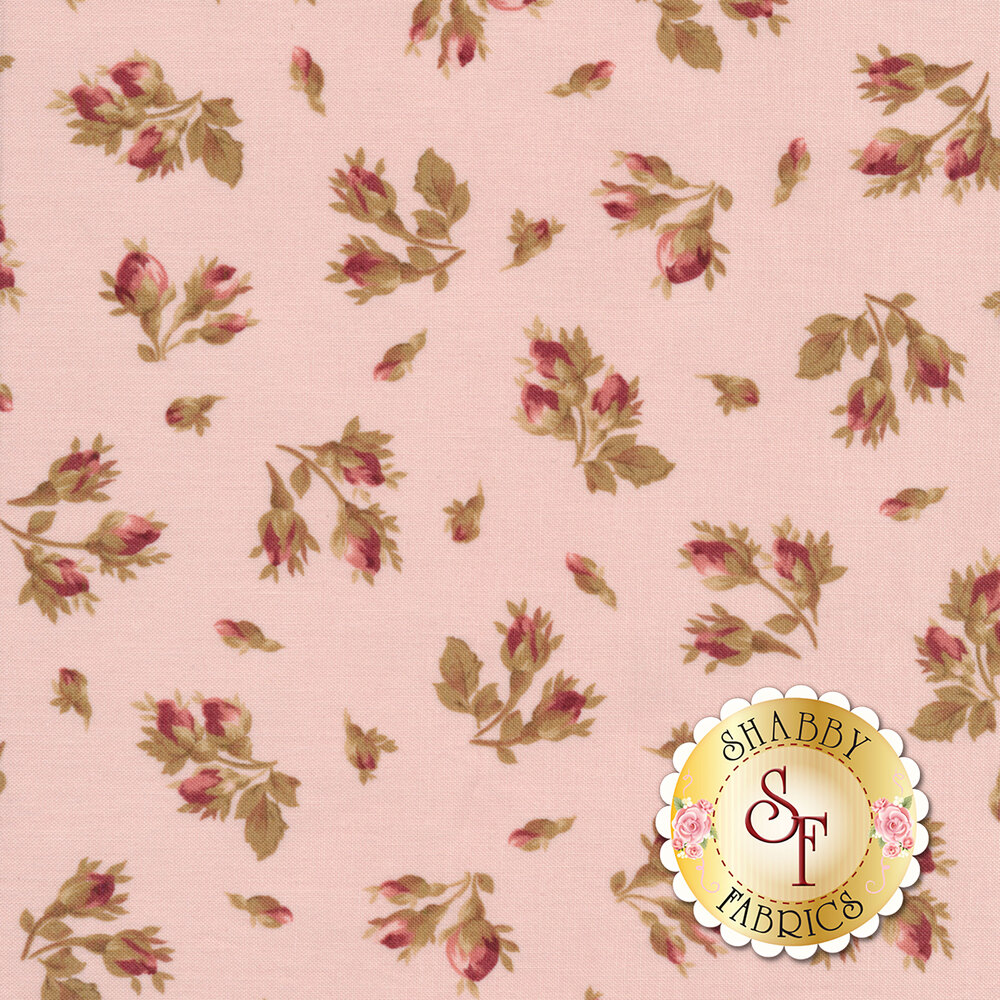 Burgundy & Blush 9362-P Available at Shabby Fabrics