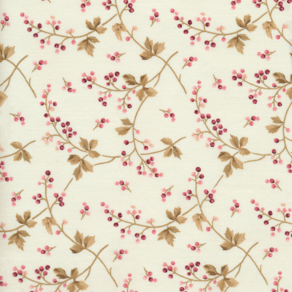 Burgundy & Blush 9363-E Available at Shabby Fabrics