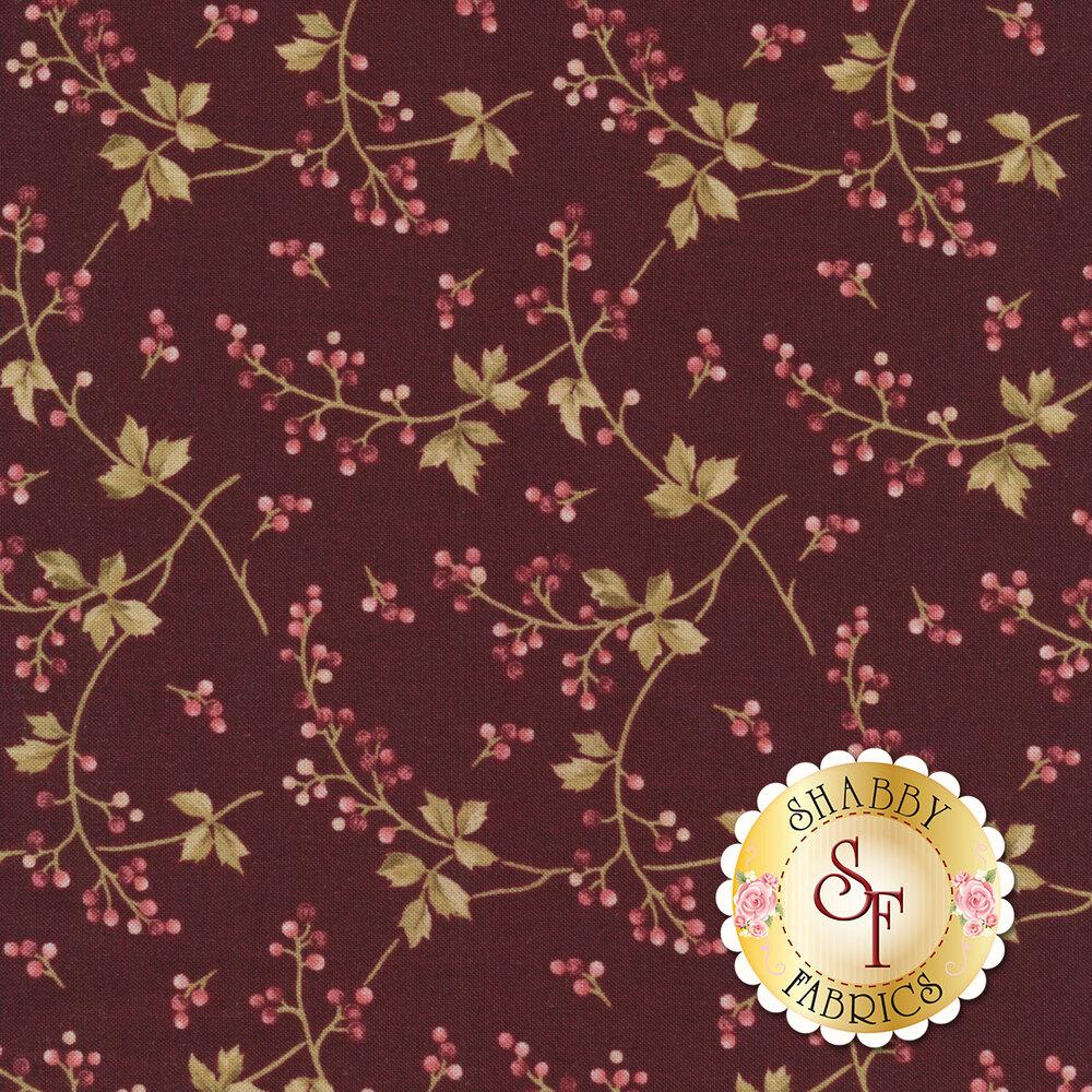 Burgundy & Blush 9363-M Available at Shabby Fabrics