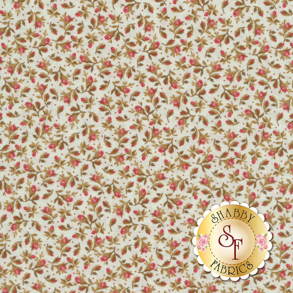 Burgundy & Blush 9364-E Available at Shabby Fabrics