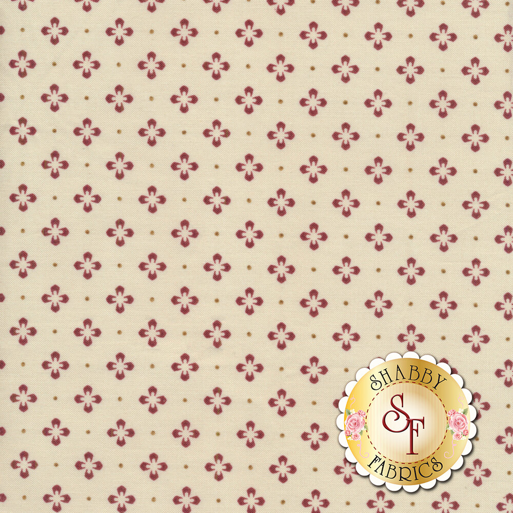 Burgundy & Blush 9366-TM Available at Shabby Fabrics