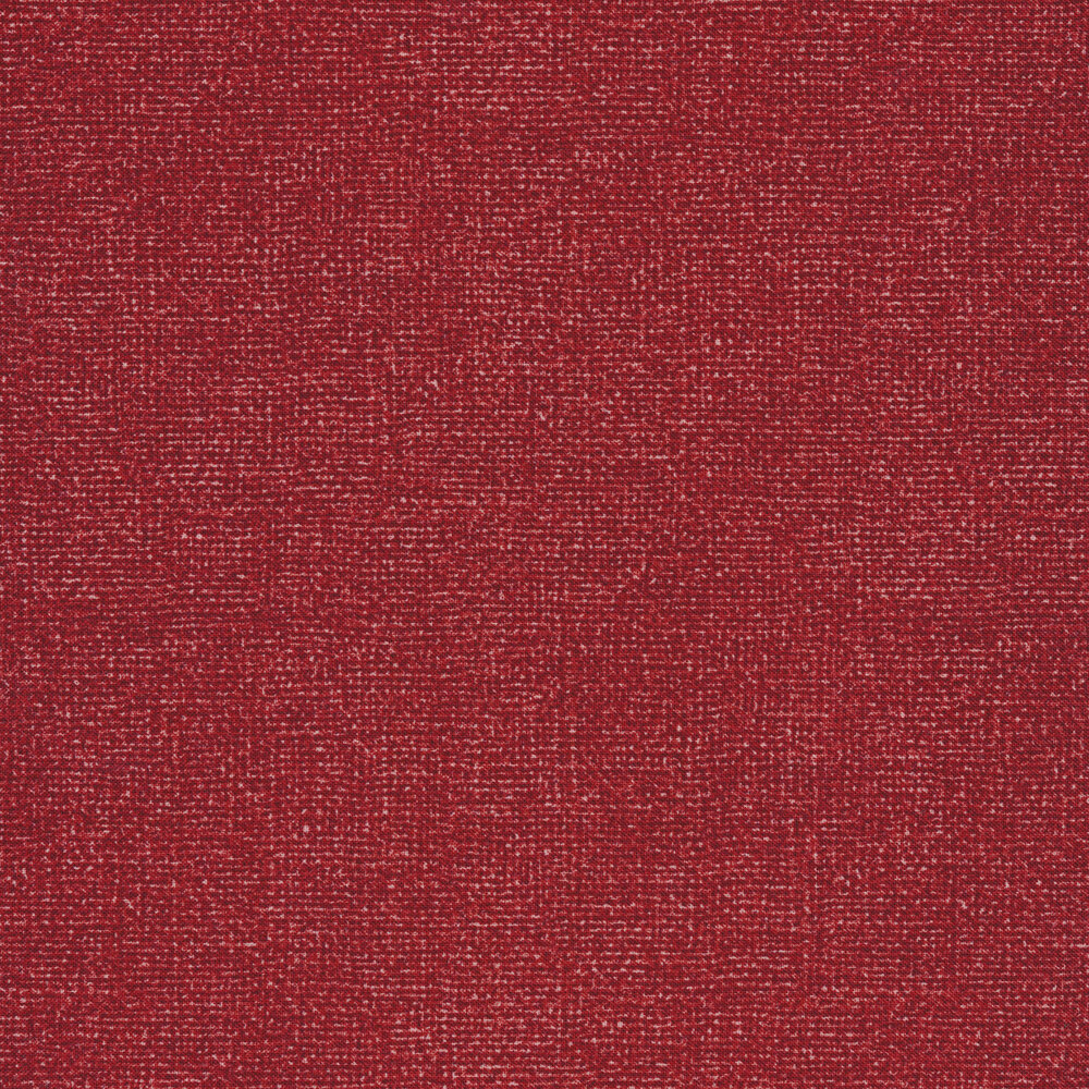 Grenadine red burlap textured fabric | Shabby Fabrics