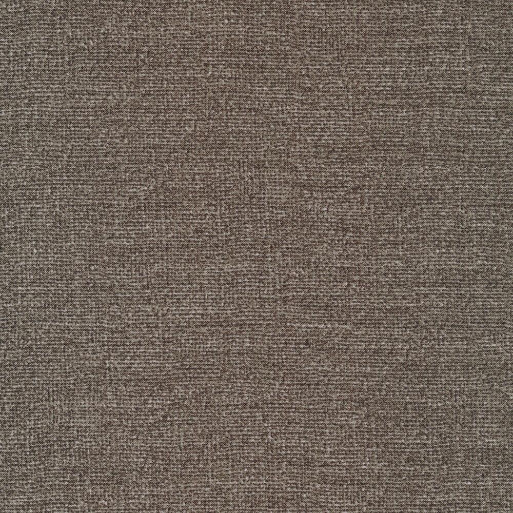 Heather gray burlap textured fabric | Shabby Fabrics