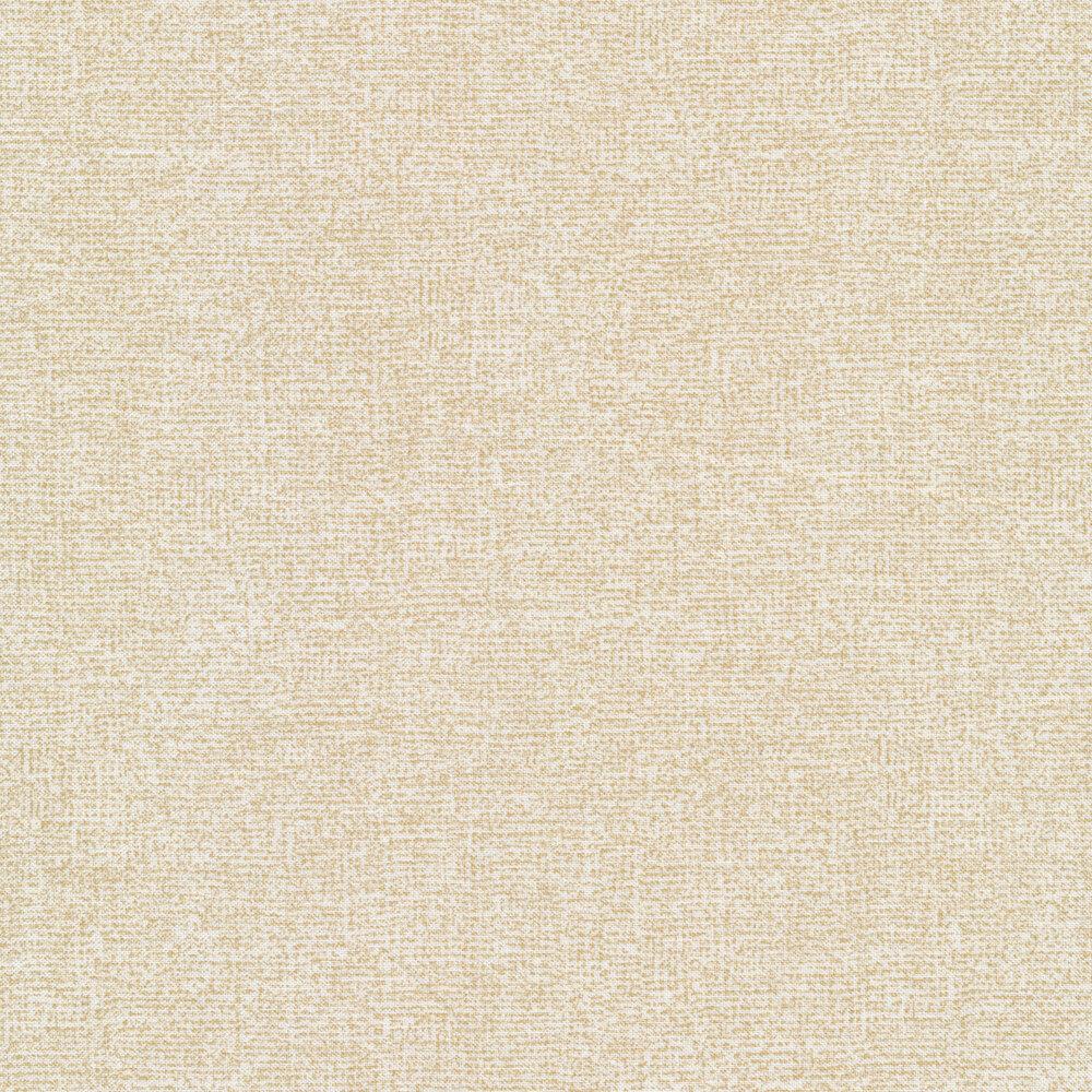 Light cream burlap textured fabric | Shabby Fabrics