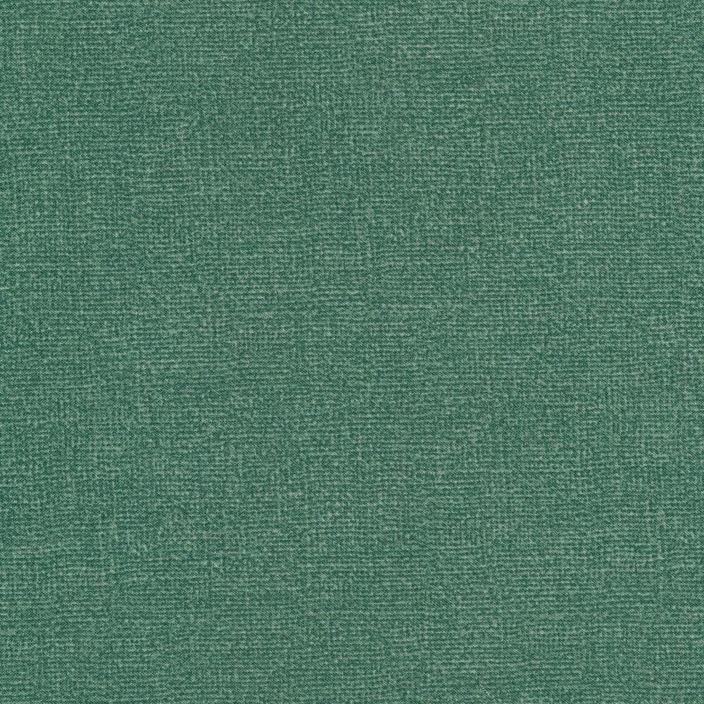 Teal burlap textured fabric | Shabby Fabrics