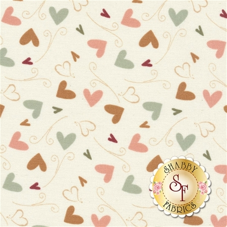 But First, Coffee! 54526-132 Cream by Katie Doucette for Wilmington Prints