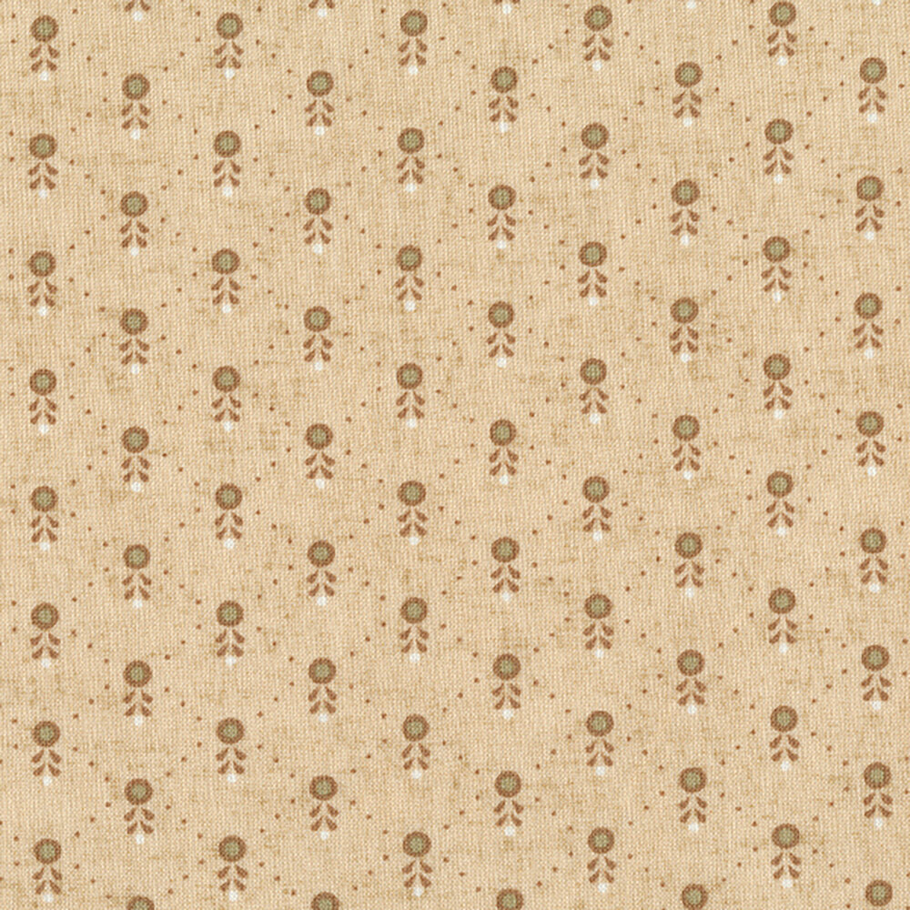 Butter Churn Basics 6289-44 by Kim Diehl for Henry Glass Fabrics