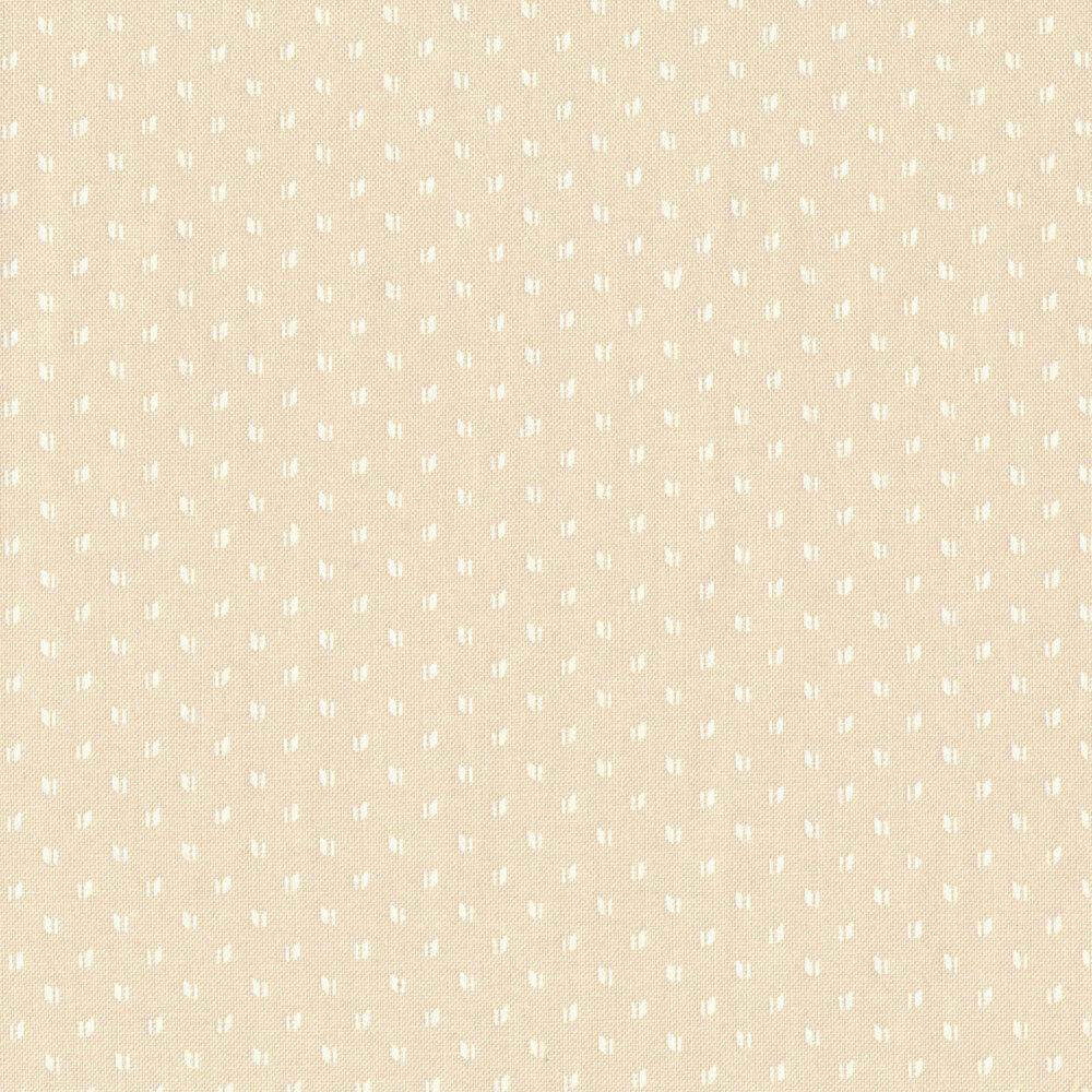 White wing design on beige | Shabby Fabrics