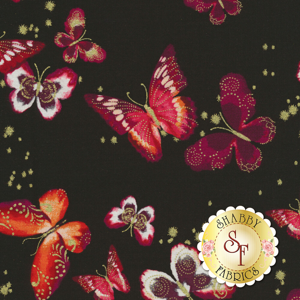 Butterfly Jewel 8860M-20 for Benartex Fabrics