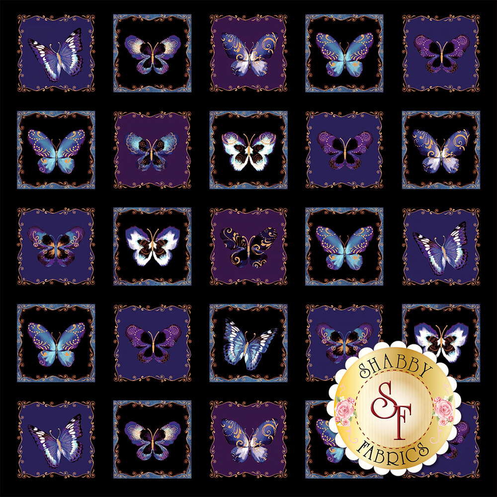 Butterfly Jewel CM8866-50 for Bentartex Fabrics8861M-55
