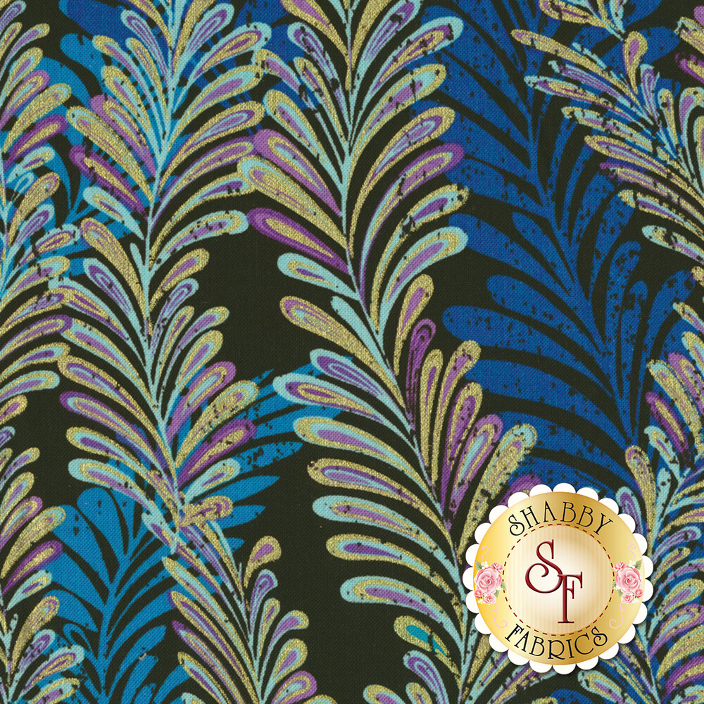 Butterfly Jewel 8862M-55 for Benartex Fabrics