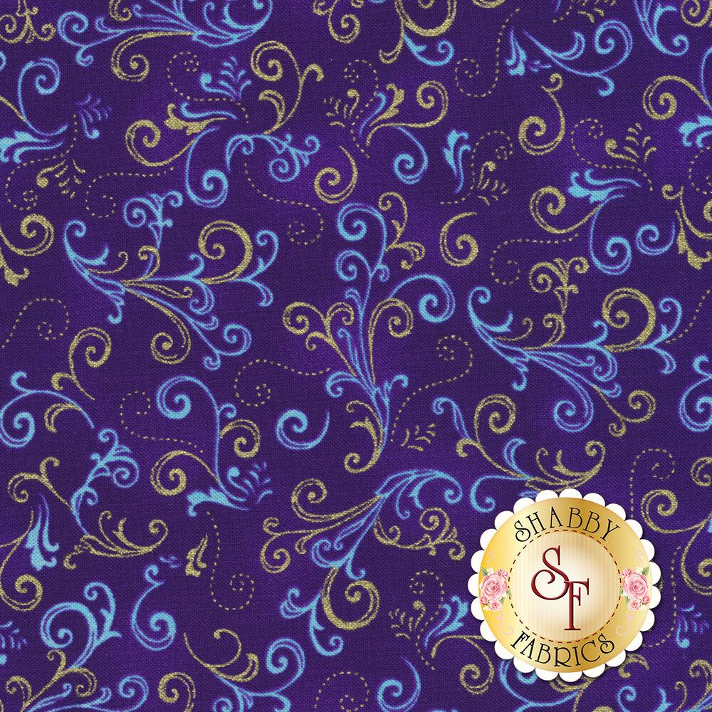 Butterfly Jewel 8863M-64 for Benartex Fabrics
