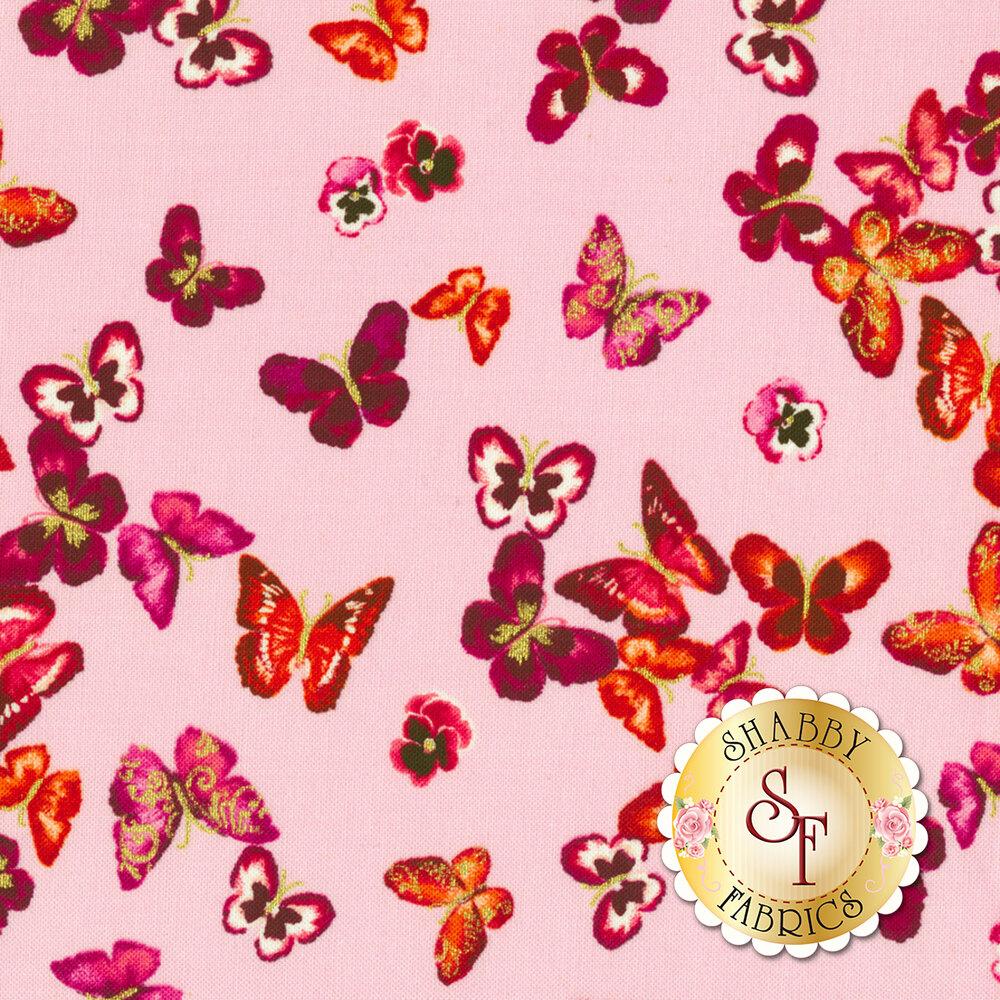 Butterfly Jewel 8866M-01 by Benartex Fabrics