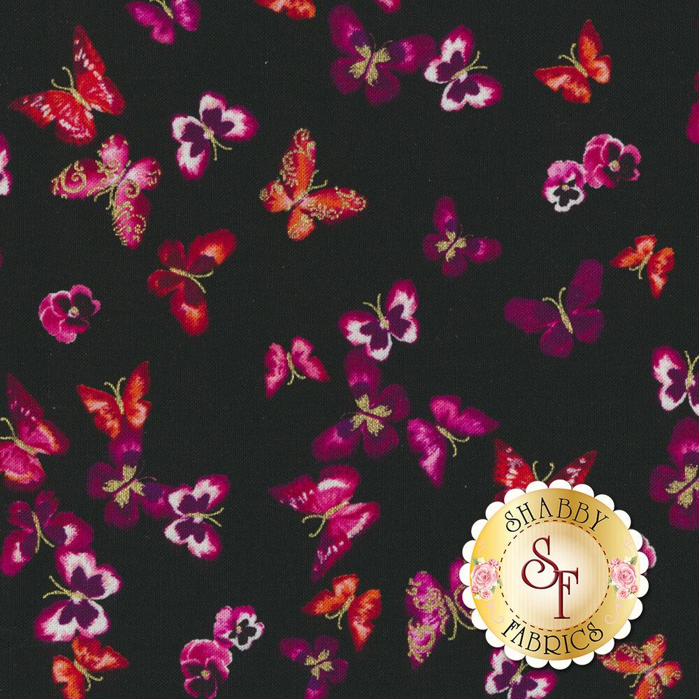 Butterfly Jewel 8866M-20 for Benartex Fabrics
