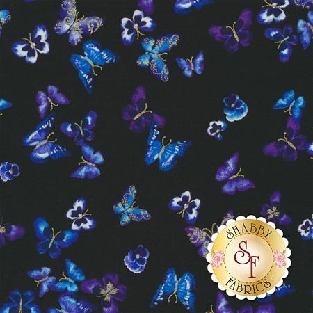 Butterfly Jewel CM8866-50 by Benartex Fabrics