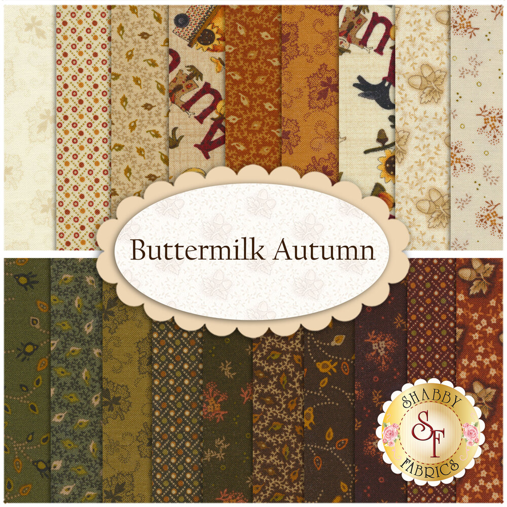 Buttermilk Autumn  Yardage