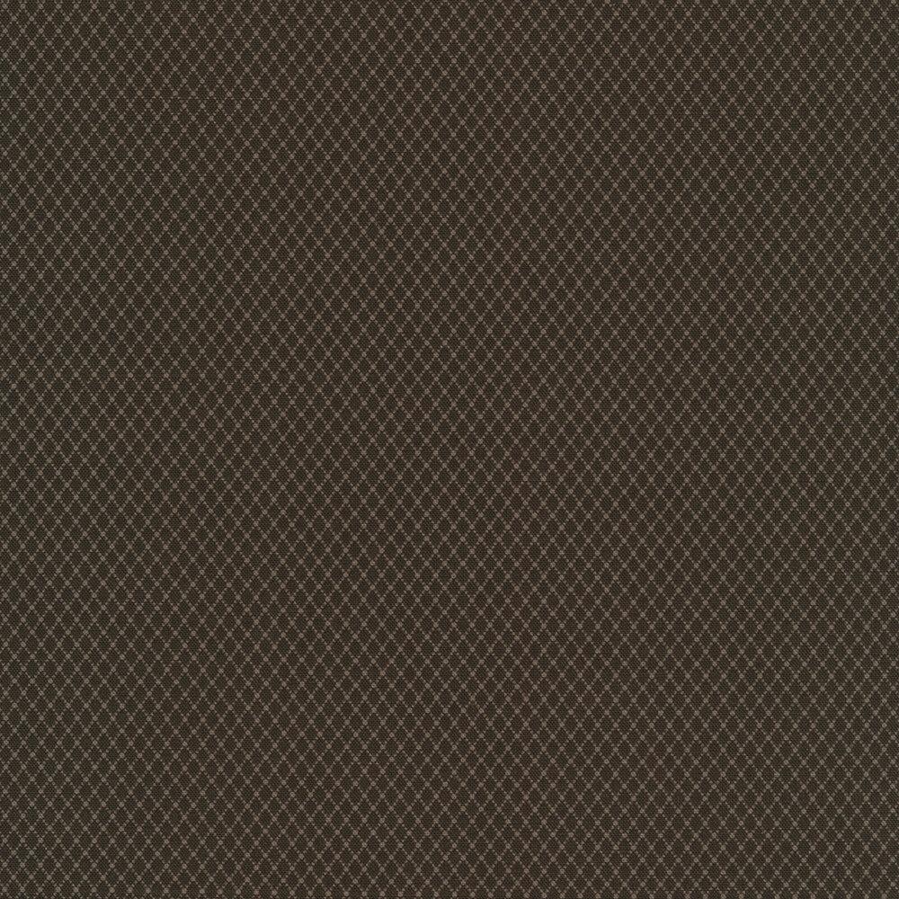 Light grey diamond patterns on an off grey background | Shabby Fabrics