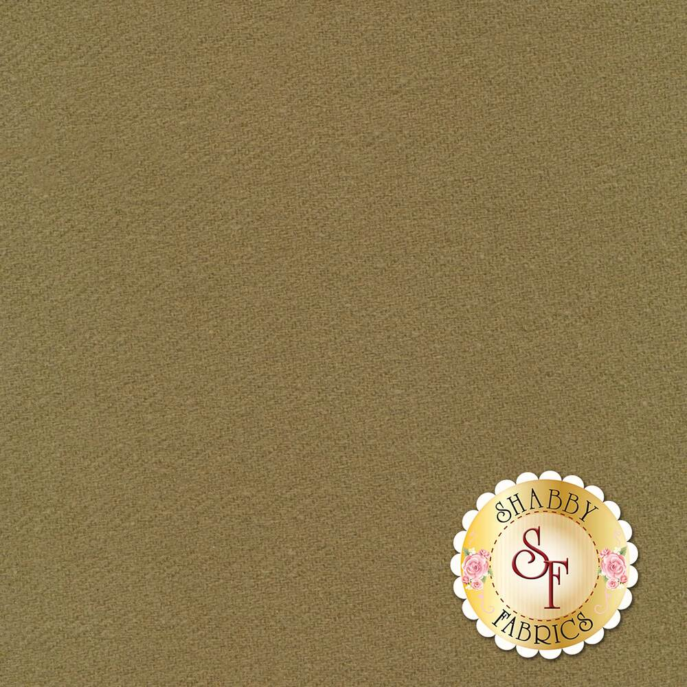 Brown solid wool | Shabby Fabrics