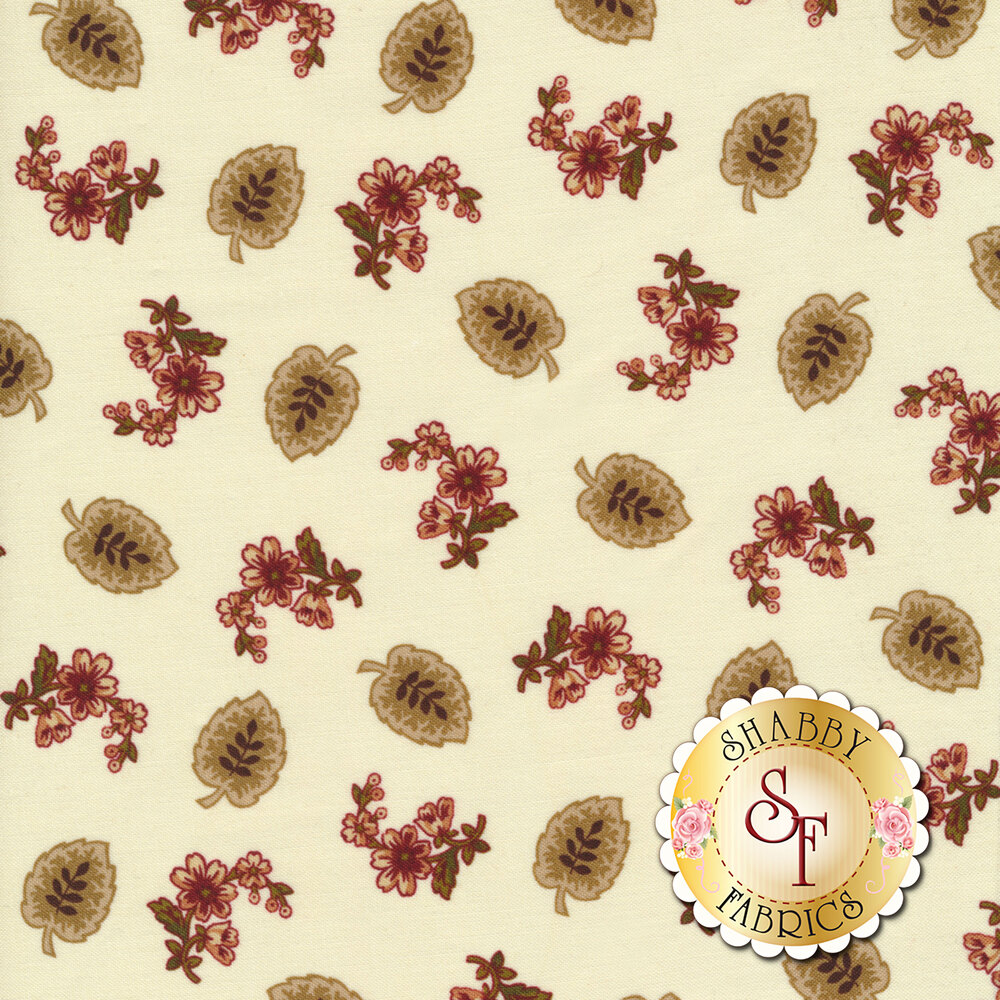 Buttermilk Blossoms 2105-33 for Henry Glass Fabrics