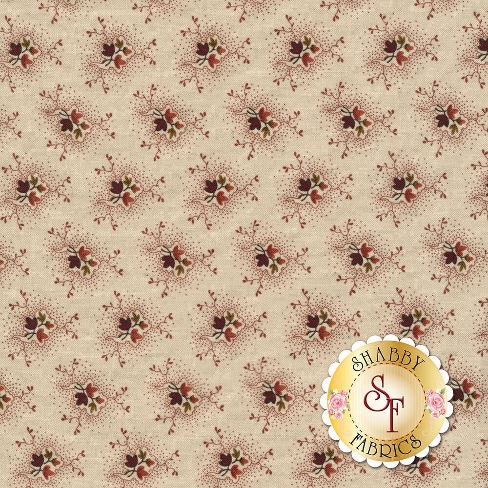 Buttermilk Blossoms 2107-46 for Henry Glass Fabrics