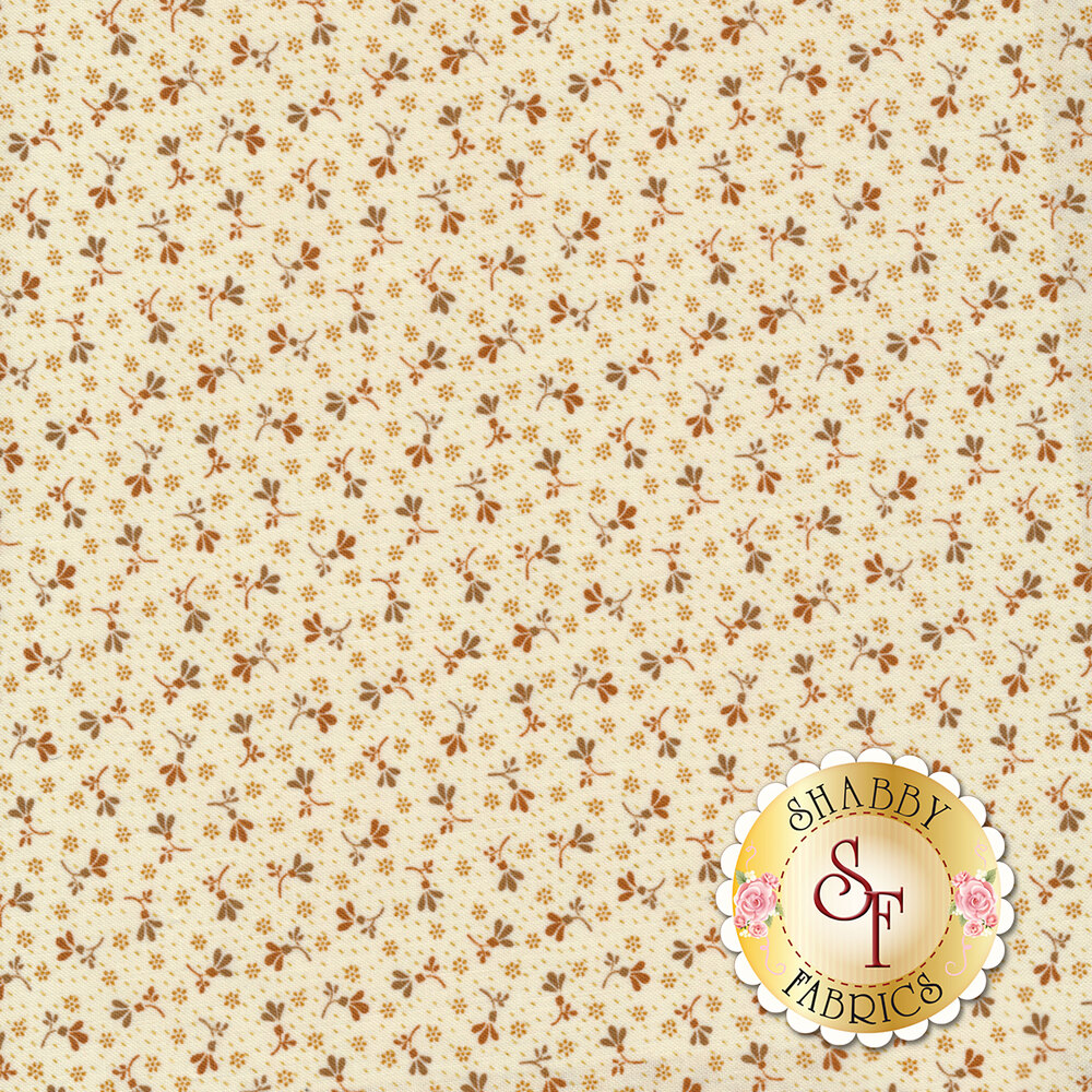 Buttermilk Blossoms 2108-33 for Henry Glass Fabrics