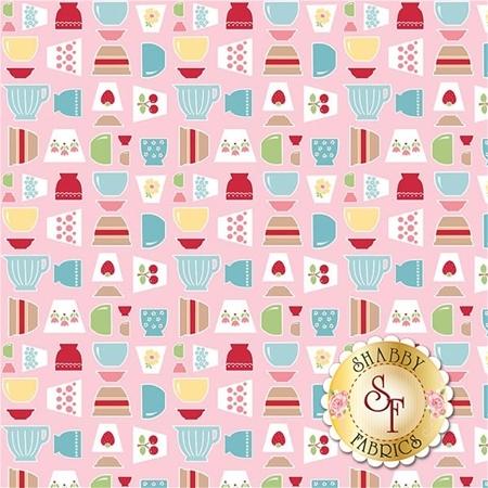 Bake Sale 2 C6980-PINK by Lori Holt for Riley Blake Designs