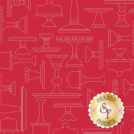Bake Sale 2 C6982-RED by Lori Holt for Riley Blake Designs