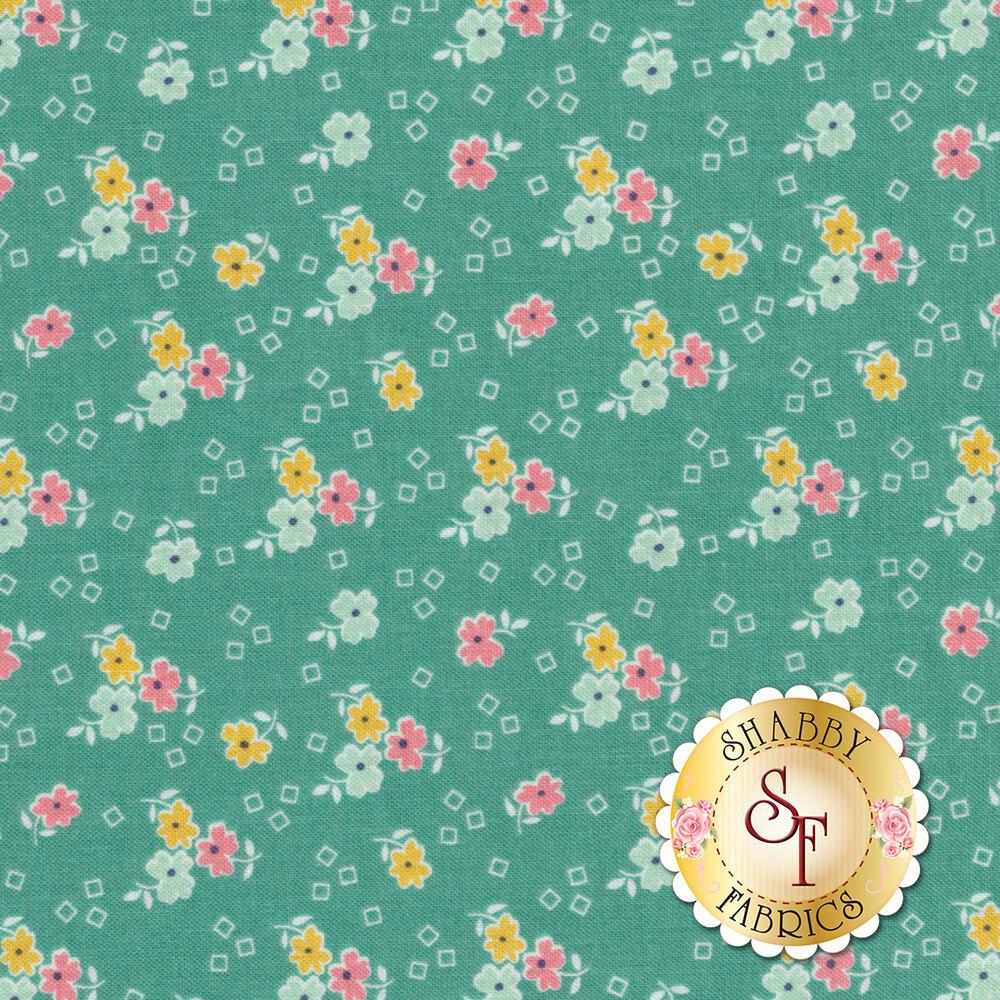 Farm Girl Vintage C7872-VIVID Flower Vivid by Lori Holt for Riley Blake Designs
