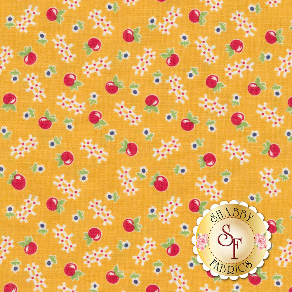 Farm Girl Vintage C7873-HONEY Apple Honey by Lori Holt for Riley Blake Designs