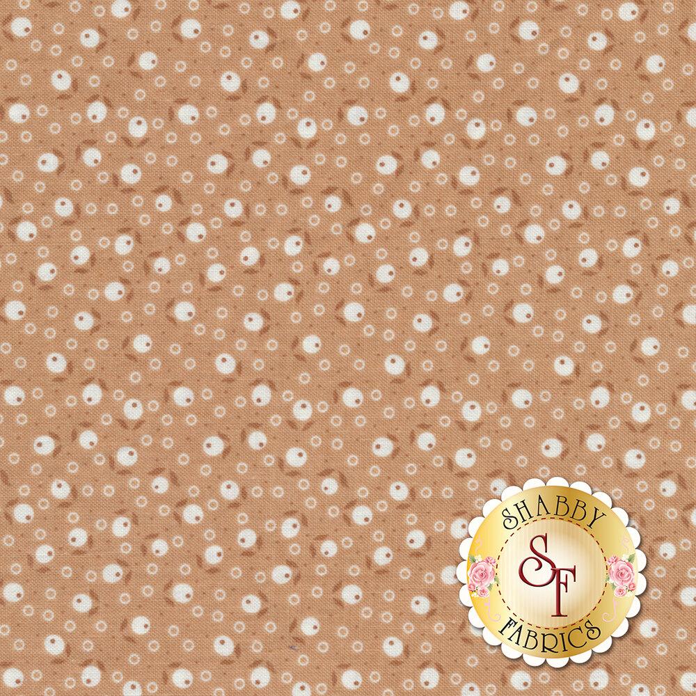 Farm Girl Vintage C7875-NUTMEG Blossom Nutmeg by Lori Holt for Riley Blake Designs REM #1