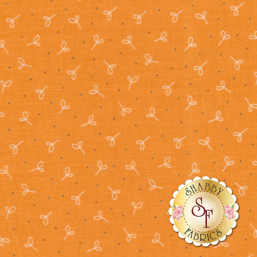 Farm Girl Vintage C7880-ORANGE Seedling Orange by Lori Holt for Riley Blake Designs