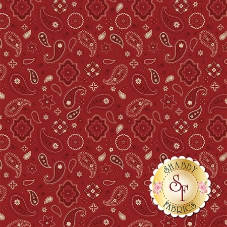 American Heritage C8032-RED by Riley Blake Designs