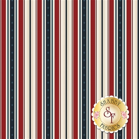 American Heritage C8034-RED by Riley Blake Designs