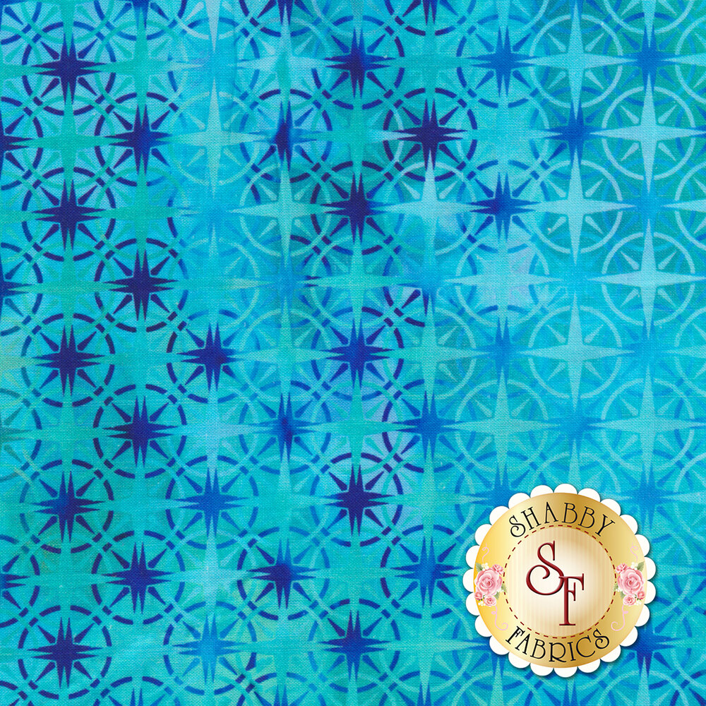 Calypso 8CAL-3 Turquoise for In The Beginning Fabrics