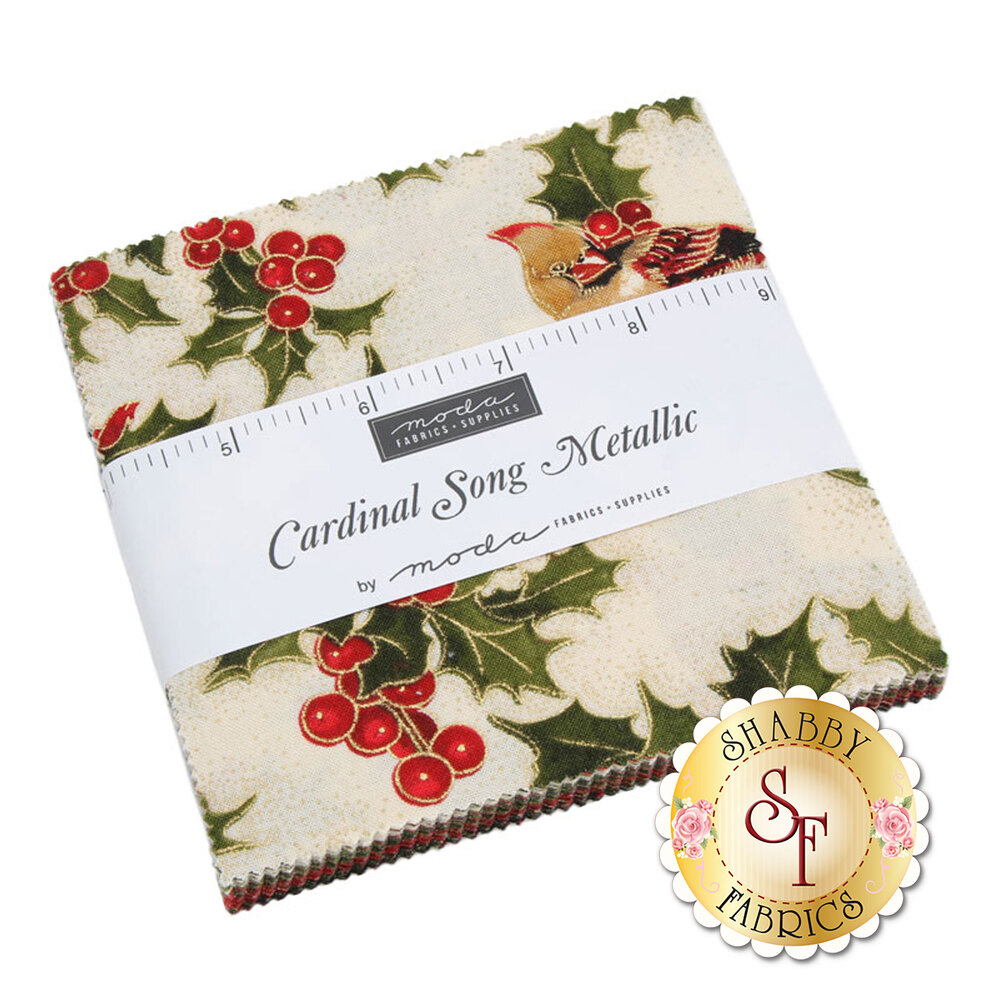 Cardinal Song Layer Cake by Moda Fabrics available at Shabby Fabrics