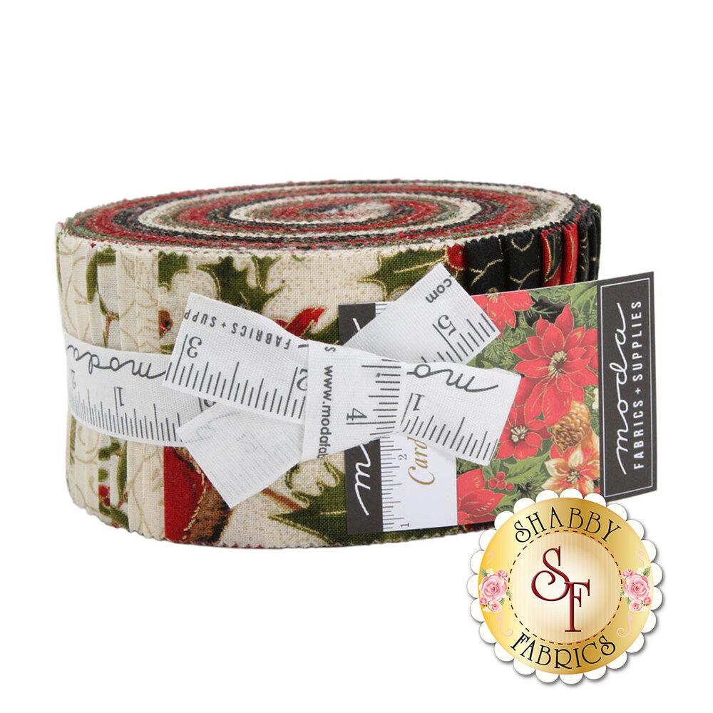 Cardinal Song Jelly Roll by Moda Fabrics available at Shabby Fabrics