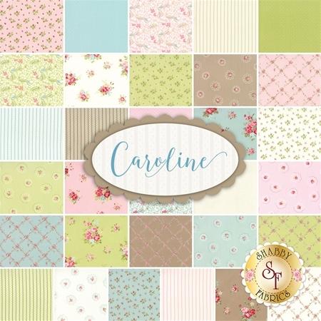 Caroline  Yardage by Brenda Riddle for Moda Fabrics
