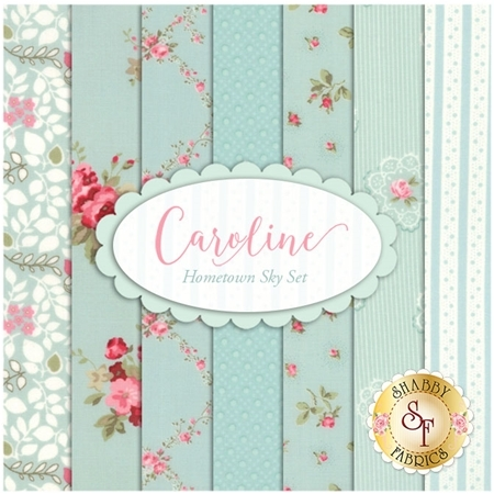 Caroline  7 FQ Set - Hometown Sky Set by Brenda Riddle for Moda Fabrics