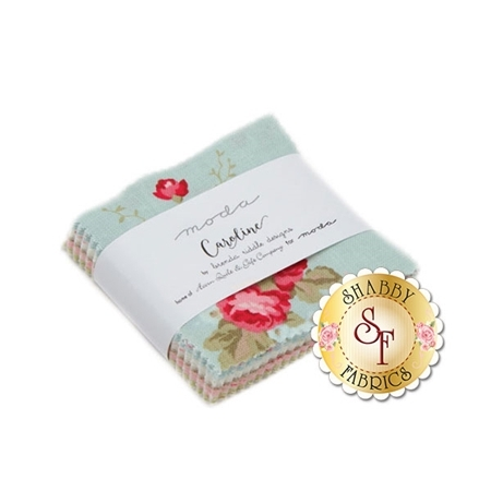 Caroline  Mini Charm Pack by Brenda Riddle for Moda Fabrics