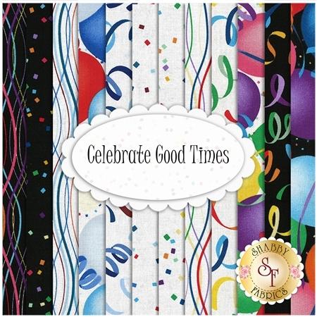 Celebrate Good Times  Yardage by Hoffman Fabrics