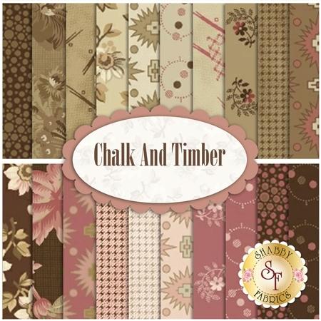 Chalk And Timber  Yardage by Marcus Fabrics