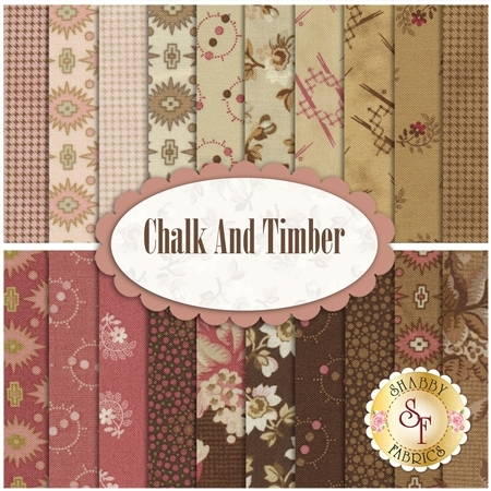 Chalk And Timber  20 FQ Set by Marcus Fabrics