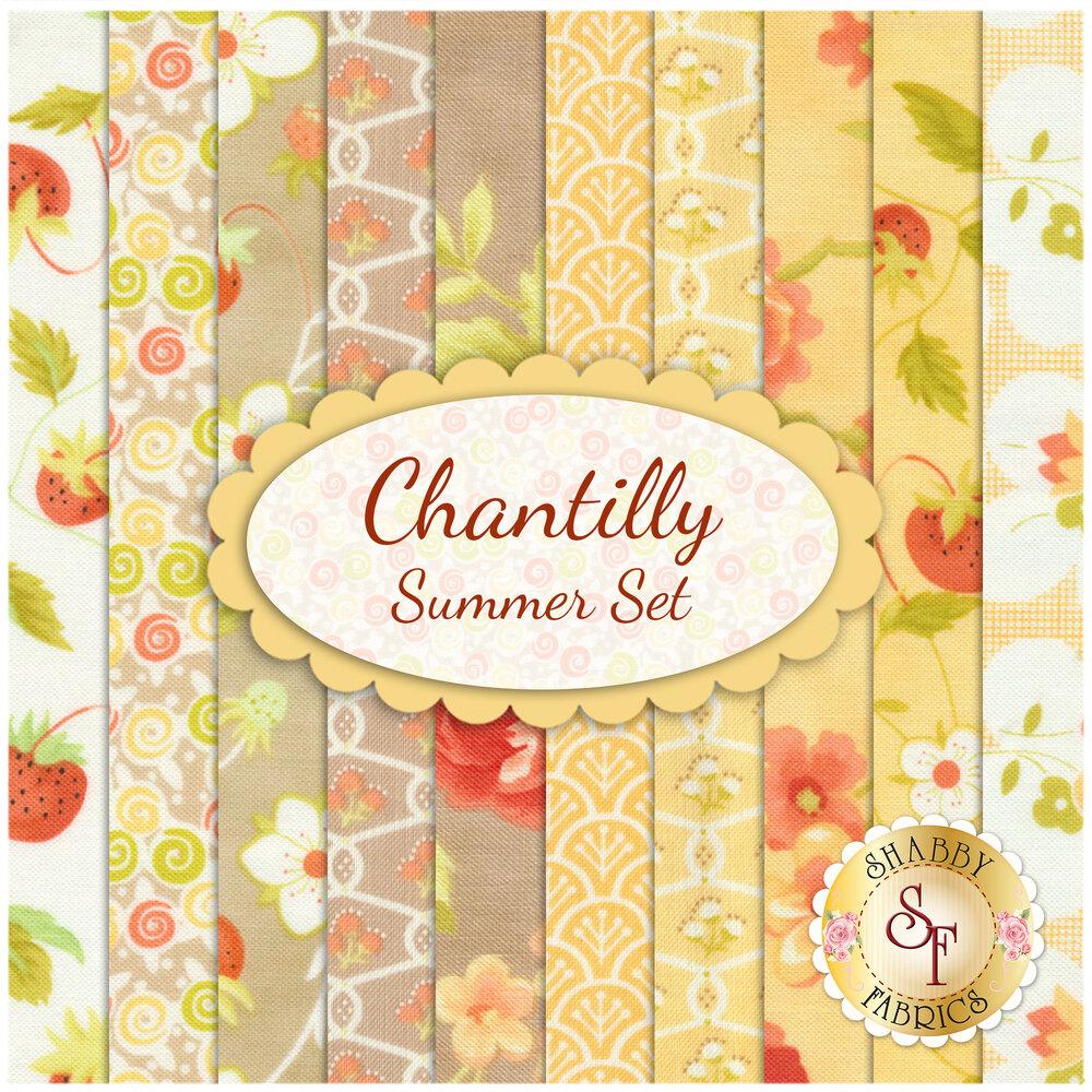 Chantilly  10 FQ Set - Summer Set