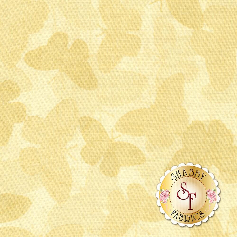 Chantrell 68453-221 Butterflies Tonal Tan for Wilmington Prints