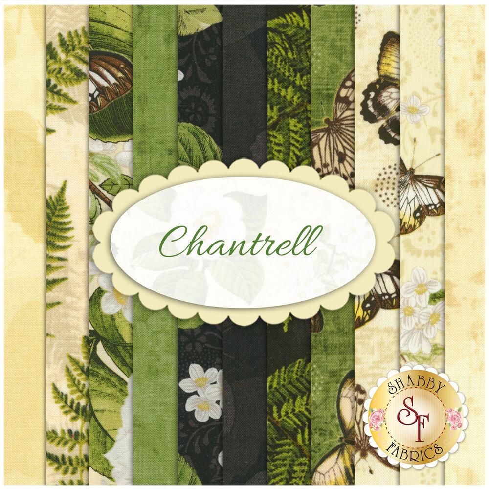 Chantrell  11 FQ Set by Wilmington Prints