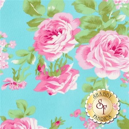 Charlotte PWTW143-BLUE by Tanya Whelan for Free Spirit Fabrics