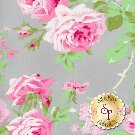 Charlotte PWTW143-GRAY by Tanya Whelan for Free Spirit Fabrics