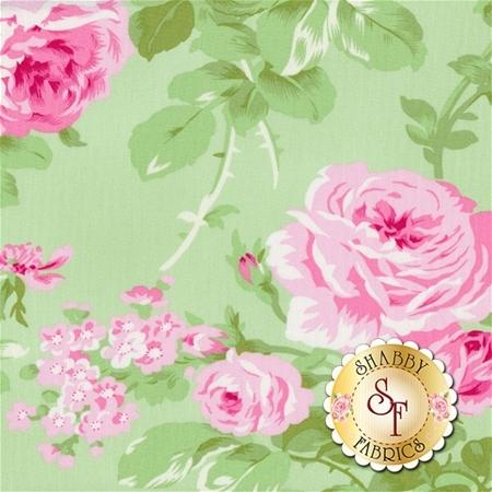 Charlotte PWTW143-GREE by Tanya Whelan for Free Spirit Fabrics